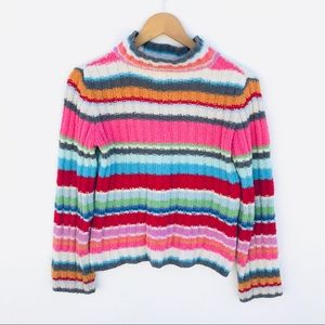 GAP Colorful Stripes Sweater